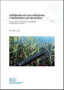 SGU-rapport om sulfatjordar
